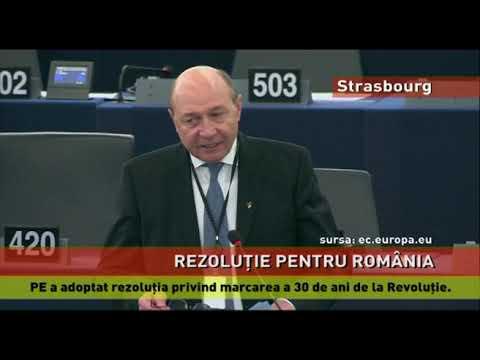 PE a adoptat rezoluția privind marcarea a 30 de ani de la Revoluție