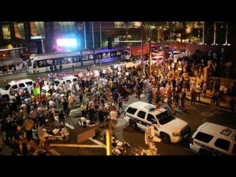 Thousands Protest in Phoenix as Trump Hints He May Pardon Joe Arpaio