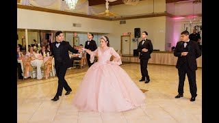 Video Anela Quinceanera Waltz by Houston Chambelanes Company MP3, 3GP, MP4, WEBM, AVI, FLV Agustus 2018