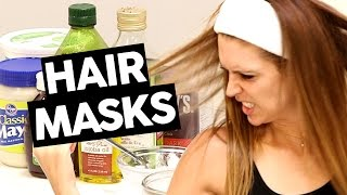 BEST AT-HOME DIY HAIR MASK INGREDIENTS FOR DRY, DAMAGED HAIR! by Clevver Style