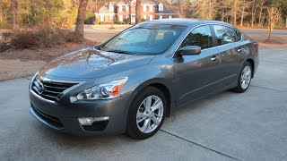 3. 1 Year Owner Review | 2014 Nissan Altima 2.5 SV