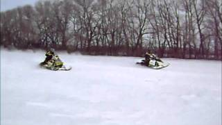 9. Ski-doo XP 800 P-TEC VS. 800 E-TEC