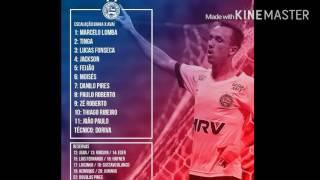Escalação Bahia - Bahia X Avaí - Brasileirão Série B 2016 - 1° Rodada