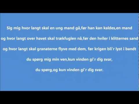 Gitte Hænning - Vinden Gi'r Dig Svar