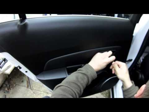 Шевроле круз как сделать открытие дверей со звуком фотка