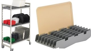 Tray Drying Rack for Camshelving and Camshelving Elements