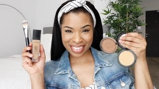 "Here's a simple makeup tutorial on my easy everyday makeup! Stick around for the Bloopers and enjoy. xx// Products UsedMAC Skin Base Visage http://bit.ly/2o9spE3MAC Strobe Cream in ""Peachlite"" http://bit.ly/2oBK9LULANCOME Teint Idole in ""Caramel"" http://bit.ly/2oBYEzALANCOME Foundation Brush http://bit.ly/2o836D7NARS Soft Matte Concealer in ""Caramel"" http://bit.ly/2oqo5BOMORPHE S4 Brush http://bit.ly/2o8dIldMAKE UP FOR EVER Pro Finish in ""168"" http://bit.ly/2pwmdahMAKEUP Addiction Master Stippler BrushANASTASIA BEVERLY HILLS Glow Kit in ""Ultimate Glow""MORPHE G23 BrushSEPHORA Dramatic Line Eyeliner http://bit.ly/2o9s1FASHISEIDO Eyeliner Pencil in ""Black"" http://bit.ly/2oqnQXyBENEFIT They're Real Mascara http://bit.ly/2pwnn5xMAC Blush in ""Peaches"" http://bit.ly/2o9x74rZOEVA 132 Brush http://bit.ly/2oBPR0vMAC Lip Pencil in ""Spice"" http://bit.ly/2ouJ4oUMAC Lip Glass in ""Please Me"" http://bit.ly/2oBL9j8BLACK UP Jumbo Lip Pencil in JUM 03 http://bit.ly/2ouBYAQ~~~ // I'm everywhere on the internet! Come say hi!BLOG :: http://www.shirleyswardrobe.comVLOG CHANNEL :: http://www.youtube.com/lifeofaneniangINSTAGRAM :: http://www.instagram.com/ShirleyBEniangTWITTER :: http://www.twitter.com/ShirleyBEniangFACEBOOK :: http://www.facebook.com/shirley.b.eniangTUMBLR :: http://www.shirleybeniang.tumblr.com/SNAPCHAT :: ""shirleybeniang""~~~// BUSINESS/GENERAL CONTACTFor enquiries, to work with me or sponsor a video on my channel, contact: info@shirleyswardrobe.com"