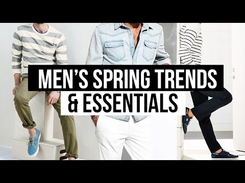 TOP 5 MEN'S SPRING FASHION TRENDS & ESSENTIALS 2017 👟👖 | JAIRWOO