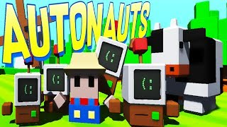 Welcome to Autonauts! Autonauts is a cute game where you harvest resources to build and program little workerbots to automate a new planet! ► Support Blitz on Patreon: http://www.patreon.com/Blitzkriegsler- - - - -Watch more Autonauts: http://bit.ly/Autonauts- - - - - Download Autonauts game free here: http://bit.ly/2u5bmYh- - - - - Autonauts gameplay overview:The 'Automationauts' (to give them their fuller, grander, longerwindeder title) travel the universe with the sole goal of setting worlds in motion through the power of automation.They harness whatever natural resources are available; they learn fast and can eventually make pretty much anything from anything. But their most important creations are workerbots, which can be made from the crudest of materials and taught to do anything an Autonaut can do so they can get on with helping species evolve.- - - -  -Want more Blitz? Check these links out:Subscribe: http://bit.ly/Sub2BlitzTwitter: https://twitter.com/BlitzkriegslerTwitch: https://www.twitch.tv/blitzSteam Group: http://bit.ly/BlitzsSteamUnboxing Videos - http://bit.ly/BlitzUnboxingGiveaway Videos - http://bit.ly/BlitzsGiveawaysChannel Updates - http://bit.ly/BlitzsUpdates- - - - -Sponsors:Get awesome T-shirts on my merch store: https://www.teepublic.com/user/ytblitzPick up good games in through Humble: https://www.humblebundle.com/?partner=blitzkriegslerClick here to customize your own PC at Ironside Computers: http://ironsidecomputers.com