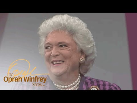Barbara Bush's First Impression of George H.W. Bush | The Oprah Winfrey Show | Oprah Winfrey Network