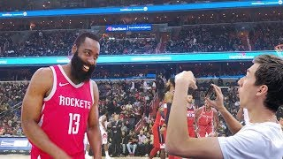 SHOWING JAMES HARDEN MY KEVIN DURANT DISS TRACK!! NOT CLICKBAIT