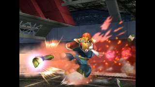 Juicy Melee – Falcon Kick. A familiar tune with some bonus smashing! (OC)