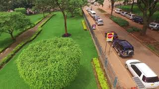 kampala city sky view