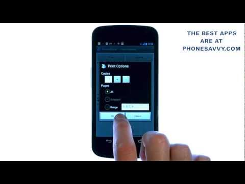 Video of PrinterShare™ Mobile Print