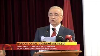 Kasım Ayı Divan Toplantısı |Başkan Ünal Aysal'ın Konuşması