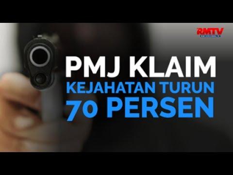 PMJ Klaim Kejahatan Turun 70 Persen