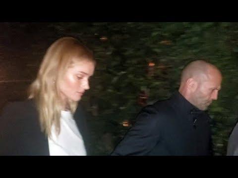 Rosie Huntington-Whiteley And Jason Statham Share Romantic Dinner At Giorgio Baldi EXCLUSIVE