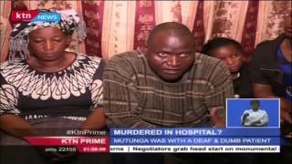 Brain Cancer Patient Killed In KNH Under Mysterious Circumstances