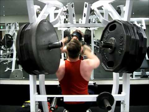 Full Offseason Back Workout 4-10-12