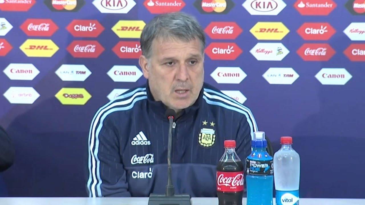 """Copa América 2015: Martino: """"Ainda não estamos classificados"""" #CopaAmericaChile2015"""