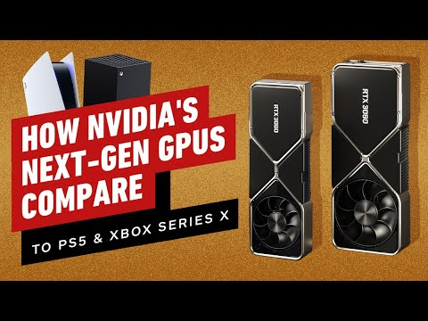 Comparing Nvidia's New GPUs to the PS5 and Xbox Series X