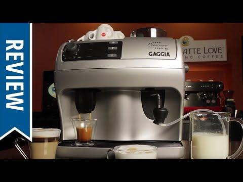 Gaggia Syncrony Logic RS Super-Automatic Espresso Machine