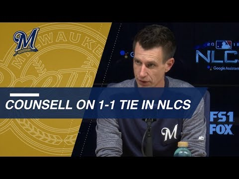 Video: NLCS Gm3: Counsell on Chacin, preparing for Game 3