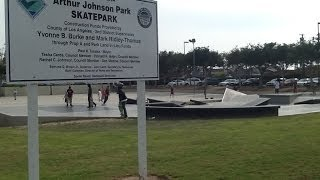 Gardena (CA) United States  city photos gallery : Skatepark Tours: Arthur Lee Johnson Memorial Skatepark (Gardena, CA)