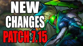 PATCH 7.15 EKKO BUFF, SIVIR BUFF, JINX BUFF, GANKPLANK BUFF, ZAC NERF & MORE  League of Legends  Kobe lol  Kobe2408 lol  PBE Rework, Update, or ChangesUp coming Skins:1. Program Heimerdinger, Elise, and Kalista2. Mater Arcanist Vladimir3. Nanotech Zac4. Arcade Yorick5. Secret Boss Viktor6. Elderwood Blitzcrank7. Pool Party illaoi, Ahri, Gragas, Bard, and Sivir8. Piltover Customs Rumble=====Make sure to Subscribe, Like, Comment, and Share :) Thank you!=======Donations for Live Stream:1. https://youtube.streamlabs.com/kobe2408Under Ground Free Music:1. Undergroundfreemusic@gmail.comEmail me your music and I will help you promote it. MUST BE COPYRIGHT FREE!Discord Channel Link:1. Discord - https://discord.gg/JnkwBXQFollow me Here:1. Facebook - https://www.facebook.com/akum.sandhu2. Twitter - https://twitter.com/AkumSandhu3. Twitch TV – https://www.twitch.tv/kobesandhu4. Youtube Live Stream - https://gaming.youtube.com/c/HardHitt...5. Instagram - https://www.instagram.com/kobesandhu/Check out my other videos:1. New Lucian OP Korean Pro Build LCS  League of Legends 7.9  Patch 7.9  Brofresco, Phylol, Redmercy, Nightblue3, imaqtpie, and pokimane ain't got stuff on ME!!! LOL - https://www.youtube.com/watch?v=wvI7H...2. NEW Heimerdinger Passive Rework 2017 patch 7.10  League of Legends 7.10 PBE3. *WTF* EKKO 2 HEXTECH ITEMS IS INSANELY STRONG AND WORKS!!  LEAGUE OF LEGENDS 7.9  PATCH 7.94. *NEW* Rework Ezreal PulseFire All Sound Effects and Voice Lines 2017  League of Legends 7.105. *NEW* PulseFire Caitlyn All Sound Effects and Voice Lines  League of Legends 7.10  Patch 7.106. NEW REWORK EZREAL PULSEFIRE SKIN GAME PLAY 2017  LEAGUE OF LEGENDS 7.9  PATCH 7.97. NEW PulseFire Cailtyn Gameplay Skin Spotlight 2017  League of Legends 7.9  Patch 7.9 PBE8. NEW HEXTECH MSI CAPSULE UNBOXING OPENING X50  League of Legends 7.8  Patch 7.89. New Hextech Chest and MSI Capsule Unboxing Opening  Rarest Skins in League of Legends10. PulseFire Cailtyn Teaser Trailer  League of Legends 7.9  Patc