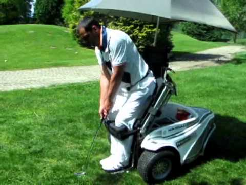 Il golf in carrozzina