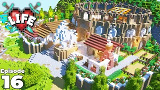I Built The X LIFE ARENA GAMES : Ep 16 : Minecraft Modded Survival Let's Play