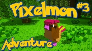 Pixelmon Minecraft Pokemon Mod! Adventure Server Series! Episode 3 - Pidgeotto Evolution
