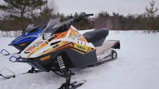 10. 2018 YAMAHA YOUTH SERIES SNOWMOBILES