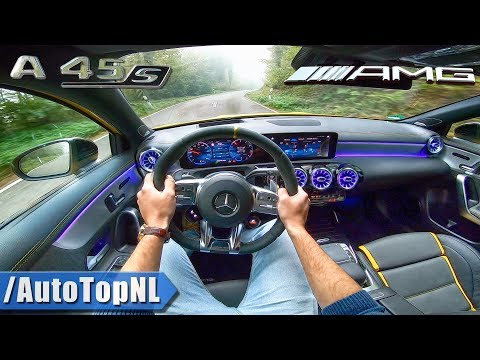 2020 Mercedes AMG A45 S 4Matic+ 421HP POV Test Drive by AutoTopNL