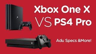 Project Scorpio, kode nama dari konsol terbaru Microsoft akhirnya diungkap nama resminya, Xbox One X. Konsol termutakhir ini diperlihatkan ke audiens pertama kali pada Minggu, 12 Juni lalu di ajang Electronic Entertainment Expo (E3), Los Angeles, California.Detail kunci dan persaingan paling menarik ada pada fitur 4K gaming yang ditawarkan Xbox One X. Dimana rival Microsoft yaitu Sony, udah duluan ngerilis PS4 Pro yang juga mendukung 4K gaming. Bisa dipastikan dunia persilatan gaming 2017 akan diramaikan oleh head-to-head kedua konsol. Terus gimana adu specs Xbox One X dan PS4 Pro?Baca selengkapnya di http://bit.ly/2sQrNJIKalo kamu suka video tech & informasi terbaru tech, klik button Subscribe, bisa juga like, dan share video-nya! Why should you? Because sharing is caring!~~~Follow Kami di Line : https://line.me/ti/p/%40telunjuk.comFollow Kami di Twitter: https://twitter.com/telunjukdotcom ~Follow Kami di Instagram : https://instagram.com/telunjukcom/Like Kami di Facebook: http://www.facebook.com/telunjukdotcom ~Add Kami di Google+: https://plus.google.com/+Telunjukdotcom
