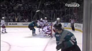 Tomas Hertl scores fourth goal of game with nasty finish - YouTube