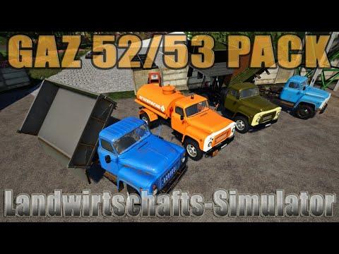 GAZ 52/53 PACK OT SD MODS v2.0.0.0