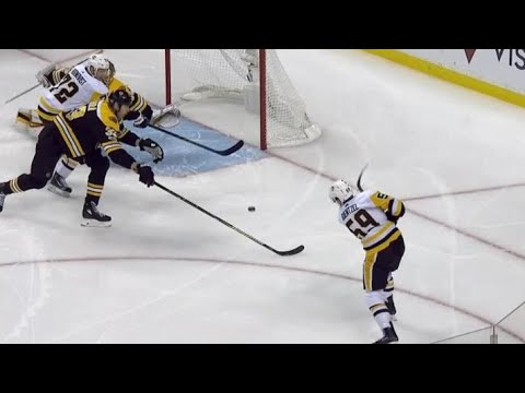 Video: Guentzel power play goal brings Penguins within one