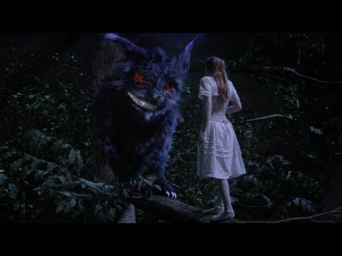 Alice Meets Cheshire Cat