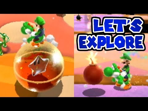 What happens when Yoshi visits Rainbow Road? Out of Bounds Exploration!