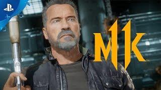 Mortal Kombat 11 Kombat Pack – Official Terminator T-800 Gameplay Trailer | PS4