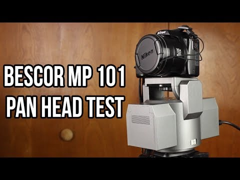 Bescor MP 101 Pan Head Test