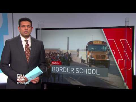 This New Mexico school welcomes families who live across the border