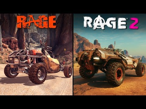 RAGE 2 vs RAGE 1 | Direct Comparison