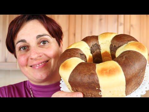 pan brioche bicolore - ricetta fatta in casa