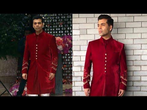 Karan Johar Attends Akash Ambani And Shloka Mehta'