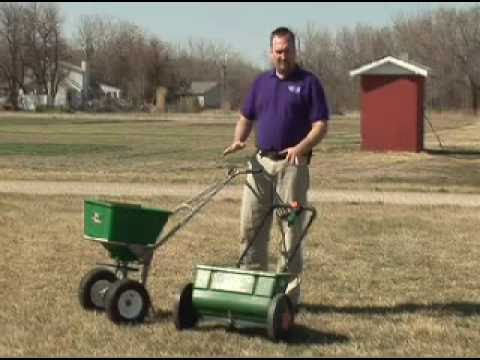 Spreader - When applying fertilizer on your lawn, there are two types of spreaders available: drop and broadcast spreaders. Each one has special considerations, but get...