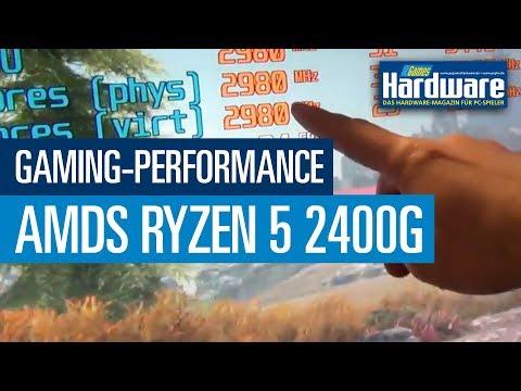 AMDs Ryzen 5 2400G: Gaming-Performance in GTA 5, Wolfenstein II & Skyrim SE (Full HD, 1080p)