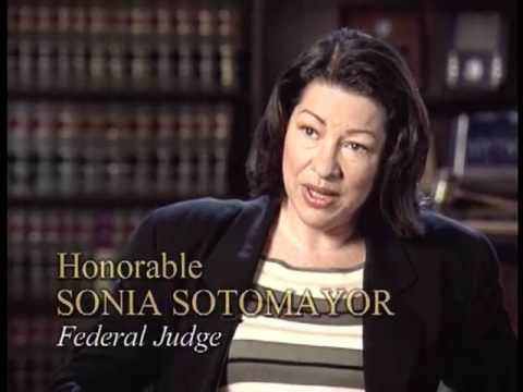 Watch Video: Sonia Sotomayor