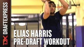 Elias Harris - 2013 NBA Pre-Draft Workout & Interview